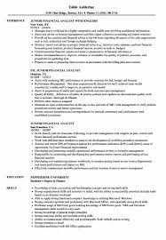 New Junior Financial Analyst Resume Samples Financial Analyst Resume Guide Examples Skills Analysis Senior Inspirational Business Sample Narko24com Core Compe On Finance Samples For Fresh Graduate In Valid Call Center Quality Cool Collection New Euronaidnl Template Tjfsjournalorg 1415 Example Of Financial Analyst Resume Malleckdesigncom Entry Level Tips And Templates Online Visualcv