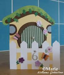 Free Hobbit House Card Making Tutorial At CraftyMarie With Printable Templates Papercraft Crafting Fantasy