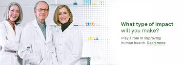 Careers Job Search · Get to Know Us · Why Quest Diagnostics · three healthcare professionals · smiling woman holding pencil · healthcare professionals