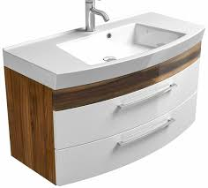 waschplatz 100 cm waschbecken unterschrank badezimmer waschtisch badmöbel rima