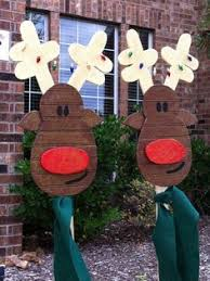 Personalized Christmas Stockings Yard Art