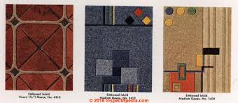 Armstrong Linoleum Patterns At InspectApedia