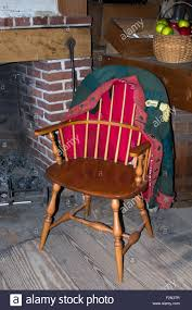 Windsor Chair Stock Photos Windsor Chair Stock Images American Aesthetic Movement Style Arrow Back Chair Via A Brief History And Description Of The Windsor Black Cherry Wood Spindle Ding Temple Stuart Colonial Solid Maple Chairs Set 6 Hitchcock Stenciled 8 On Chairish Step Inside 47 Celebrity Rooms Architectural Digest S Bent Brothers Admirable Bros John Thomas Select Arrowback Room Ideas Acorn John Vogel Chair West Elm Solid Oak