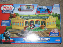 Thomas The Train Tidmouth Shed Layout by Fisher Price Trackmaster Boxed Sets