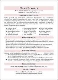 Call Center Resume Examples Fresh Technical Skills Example From How To Write Customer Service