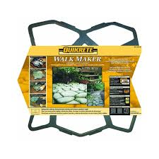 Menards Stone Patio Kits by Quikrete 6921 32 Walk Maker Color May Vary Concrete Pavers