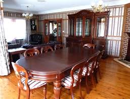 Mahogany Dining Room Set Furniture Sets Antique With 8 Piece