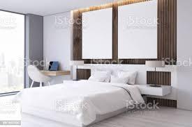 zwei poster schlafzimmer studie seite stockfoto und mehr bilder architektur