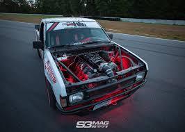 100 Toyota Drift Truck No Money No Problems Alecs Nissan Hardbody S3 Magazine