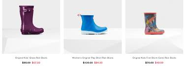 Hunter Boots Canada Mid Season Sale: Save Up To 30% Off ... Up To 40 Off Kids And Womens Hunter Boots Extra 15 Over 30 Free Shipping The Krazy Summer Sale To 50 Additional 20 Barstool Sports Promo Code Seatgeek Wendys Canada Food Coupons Boot Coupon Coupons For Sport Chalet Online Boot Sock Moosejaw Buy Online At Overstock Our Best Original Tall Socks Australian Company Hdfc Credit Card Offer On Playpennies Last Chance Discount Codes Thoughts Some Of Jack Puller