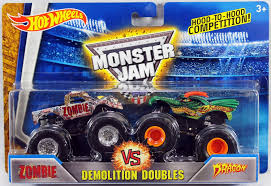 Buy 2016 Hot Wheels Monster Jam Demolition Doubles - Zombie Vs ... Ultimate Hot Wheels Shark Wreak Monster Truck Closer Look Year 2017 Jam 124 Scale Die Cast Bgh42 Offroad Demolition Doubles Crushstation For The Anderson Family Monster Trucks Are A Business Nbc News Dsturbed Other Trucks Wiki Fandom Powered By Wikia Hot Wheels Monster 550 Pclick Uk 2011 Series Blue Thunder Body 1 24 Ebay Find More Boys For Sale At Up To 90 Off Megalodon Fisherprice Nickelodeon Blaze Machines
