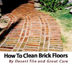 how to clean brick floors desert tile grout care