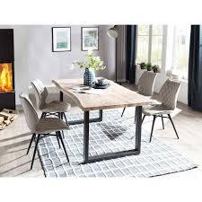esszimmer tischgruppe mit 4 stühlen tilveta i 5 teilig