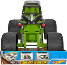 100 Monster Jam Toy Truck Videos Best Buy Hot Wheels Giant Grave Digger DNL95
