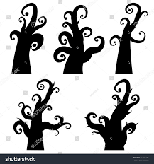 Creepy Halloween Tombstone Sayings by 100 Halloween Spooky Tree Silhouette Black Trees For