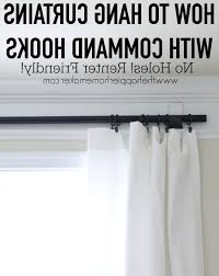 no drill dorm room curtain with lovable curtain rods without