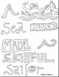 Astonishing Inspirational Quotes Coloring Pages With And