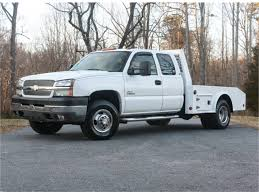 2004 Chevrolet Silverado 3500 Work Truck Ext. Cab 4WD For Sale In ...