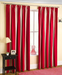 Striped Curtain Panels 96 by Curtains Patterned Curtains Canada Beautiful Red White Blue