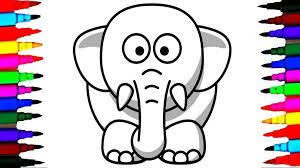 Impressive Elephants Coloring Pages Best Color Unknown Design