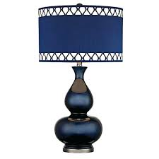 Small Table Lamps Walmart by Navy Blue Lamp Shades Table Lamps Off Navy Blue And Black Nickel