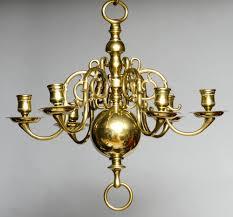 Product  Small Dutch Brass Chandelier