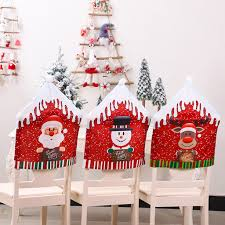 US $2.24 34% OFF Christmas Decoration Chair Covers Dining Seat Santa Claus  Home Party Decor On AliExpress - 11.11_Double 11_Singles' Day Christmas Decoration Chair Covers Ding Seat Sleapcovers Tree Home Party Decor Couch Slip Wedding Table Linens From Waxiaofeng806 542 Details About Stretch Spandex Slipcover Room Banquet Dcor Cover Universal Space Makeover 2 Pc In 2019 Garden Slipcovers Whosale Black White For Hotel Linen Sofa Seater Protector Washable Tulle Ideas Chair Ab Crew Fabric For Restaurant Usehigh Backpurple