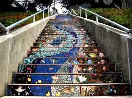 16th Avenue Tiled Steps Project by Nitin Grewal Is Answering Travel Questions Trippy