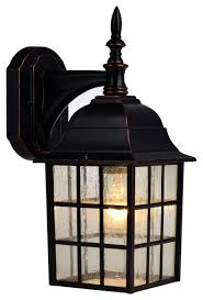Windowpane Outdoor Light Fixture Oil Rubbed Bronze Traditional