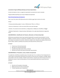 Carta Plan De Negocios