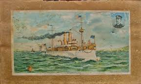 Pictures Of The Uss Maine Sinking by How Does The Uss Maine Connect To Jones Bazaar Bahoukas