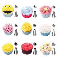 Wilton Decorating Tips For Cupcakes Swirl Coupler Cake Icing Tip Nozzle How To Frost Cupcake Using