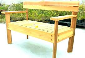 Benches With Backs Wooden Bench Back Outdoor Plans Long Wood Rustic