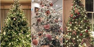 Which Christmas Tree Smells The Best Uk by The Best Celebrity Christmas Trees 2017