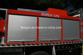 China Roll Up Door Firefighting Emergency Truck Special Vehicles ...