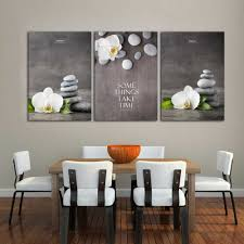 100 Zen Style Living Room ALMUDENA Chinese Flower Painting Phalaenopsis Ornamental Canvas Poster For Home Decor Unframed Wall Art