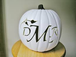 Steelers Pumpkin Carving Patterns Free by Custom Carved Monogram Pumpkin For Weddings And Fall