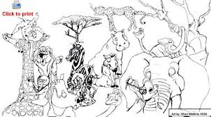 Fancy Ideas Human Animal Coloring Pages Safari Colouring Cbaaf