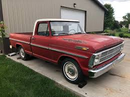 1969 Ford F100 Pickup Truck Short Box Bed Swb - Used Ford F-100 For ...