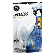 ge reveal light bulbs clear 60 watt decorative blunt tip walgreens
