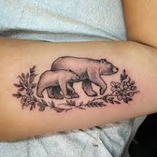 Bears And Flowers By Jennifer Lawes Mom Daughter TattoosMom