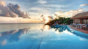 100 Resorts With Infinity Pools Hideaway Beach Resort Boasts 2 In The Maldives