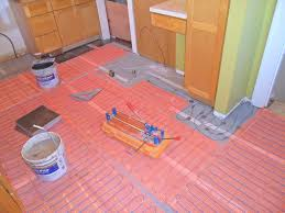 best heated tile floor with well made radiant floor heating