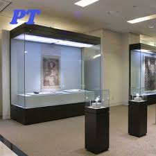 Wholesale Museum Wall Mounted Glass Display Case