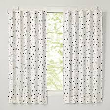 Land Of Nod Blackout Curtains by Black Alphabet 63