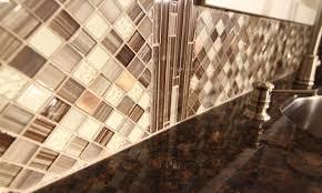 Adhesive Backsplash Tile Kit by Diy Peel And Stick Backsplash Mosaic Tile Kit Surripui Net