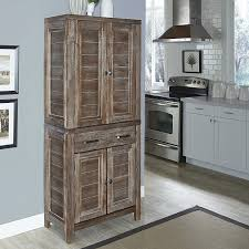 Wayfair Kitchen Cabinet Doors by Amazon Com Home Styles Model 5516 65 Barnside Pantry Kitchen