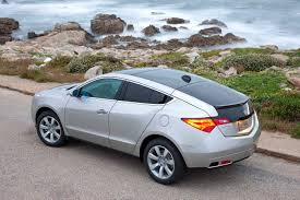 All New 2010 Acura ZDX Four Door Sports Coupe