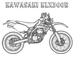 Coloring Pages Of Dirt Bikes
