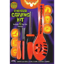Superhero Pumpkin Carving Kit by Halloween Pumpkin Decorating Kits Canada Party Supplies Canada